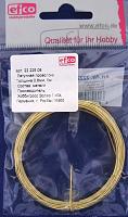 Латунная проволока 0,8 мм, цвет золото