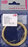 Латунная проволока 1 мм, цвет золото