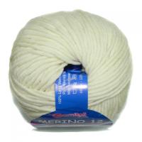 Пряжа Мерино-12 № 7800 молочный