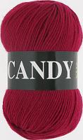 Пряжа Vita Candy, цвет 2536 красная ягода