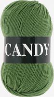 Пряжа Vita Candy, цвет 2538 зеленый