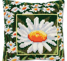 """Подушка """"Ромашка"""" набор для вышивания"""