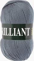 Пряжа Vita Brilliant, цвет 4980 серый