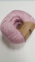 Пряжа Альпака Силк (Alpaca Silk), цвет 5763 разбавленный розовый