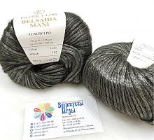 Пряжа Белсаида Макси (Belsaida Maxi), цвет 80646 стальной с отливом хаки