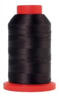 Оверлочная полупрозрачная нить, AMANN GROUP METTLER, SERALENE, 2000 м №1382 цв.шоколад