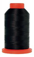 Оверлочная полупрозрачная нить, AMANN GROUP METTLER, SERALENE, 2000 м №4000 черный
