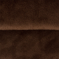 Плюш PEPPY, фасовка 48х48 см, цвет 17 т.коричневый