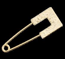 Булавка декоративная Германия золото 7,5см