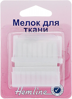 Мелок для ткани c точилкой в пластиковом корпусе
