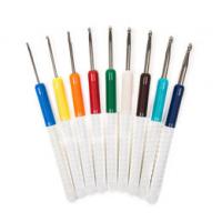 Крючки вязальные металлические с пластиковой ручкой 148-7, addi