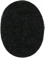 Заплатка пришивная из искусственной кожа, цвет коричневая цена за пару