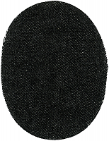 Заплатка пришивная из искусственной кожи, цвет коричневая цена за пару