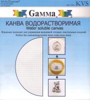 "Канва водорастворимая ""Gamma"" 19.5 х 22 см 1 шт"