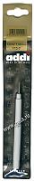 Крючок вязальный металлический экстратонкий с ручкой, №1, 13 см