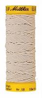 Нить-резинка ELASTIC METTLER , цвет 1000 белый, 10 м