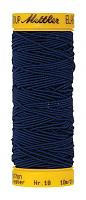 Нить-резинка ELASTIC METTLER , цвет 0810 синий, 10 м