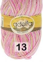 Adelia «MIA PRINT» № 13 св.зеленый-розовый-св.розовый