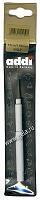 Крючок вязальный металлический экстратонкий с ручкой, №1.5, 13 см