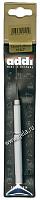 Крючок вязальный металлический экстратонкий с ручкой, №1.25, 13 см