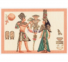 """Рисунок на канве 37х49см арт.1281 """"Египет 1"""""""
