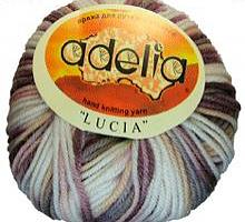Adelia «LUCIA» № 141 белый-серый-коричневый