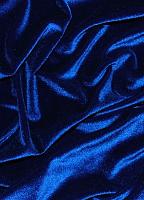 Бархат стрейч темно-синий