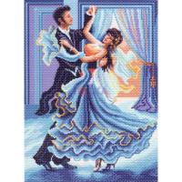 "Рисунок на канве 37х49см арт.1343 ""Танец"""