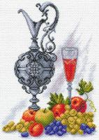 """Рисунок на канве 37х49см арт.1610 """"Молодое вино"""""""
