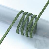 Шнур из алькантары, 3м зеленый