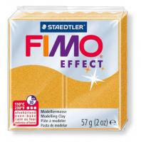Полимерная глина FIMO «EFFECT» цвет золотой металлик