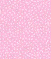 Поликотон розовый с бантиками