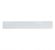 Лента бархатная 6 мм, белая