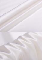 Креп-сатин, цвет белый