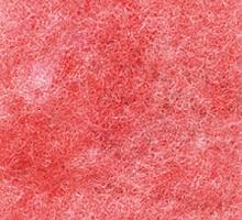 Лист фетра, красный крапчатый , 30см х 45см х 2 мм, 350 гр/м2
