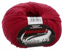 Пряжа Austermann-Merino-105-0330 красный мак
