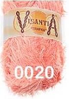 Visantia «TRAFKA» 100 % полиэстер  № 0020 светло красный