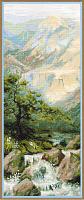 "Набор для вышивания арт.CС-1543 ""Горная река"" 20х50 см"