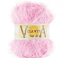 Visantia «TRAFKA» 100 % полиэстер  № 0013 бледно розовый