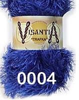 Visantia «TRAFKA» 100 % полиэстер  № 0004 ярко синий