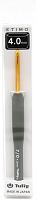 Крючок для вязания Tulip (Тулип) 4 мм  с ручкой Etimo