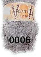 Visantia «TRAFKA» 100 % полиэстер  № 0006 светло серый