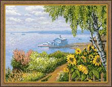 "Набор для вышивания арт.CС-1506 ""Пристань"" 40х30 см"