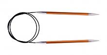 """Спицы круговые """"Zing"""" 2,75мм/40см, сердолик (оранжевый)"""