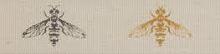 """Лента хлопковая на картонной катушке """"Пчелы"""", 5 м"""
