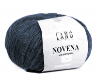 Пряжа Novena with Baby Alpaca цвет 0010 черно-синий