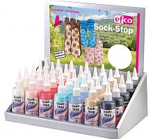 """Краска текстильная с противоскользящим эффектом 3D """"Sock-Stop"""""""