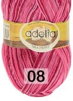 Adelia «MIA PRINT» №  08 розовый-бордовый