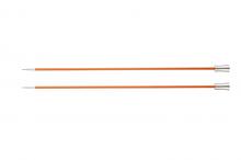 """Спицы прямые """"Zing"""" 2,75мм/25см, оранжевый, 2шт в упаковке"""