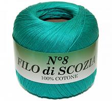 Filo Di Scozia №8 (Фило Ди Скозиа №8 - 49 яркая бирюза